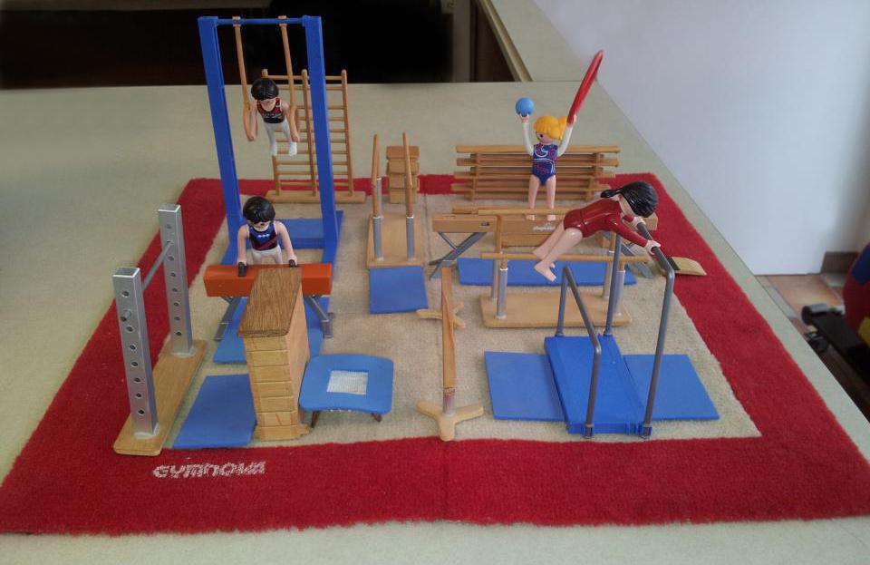 Gymnastics miniature toys - TuneGym