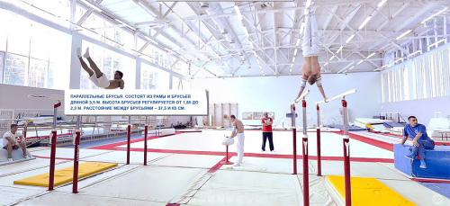 Lake Krugloye Russian Gymnastics National Team Training Center