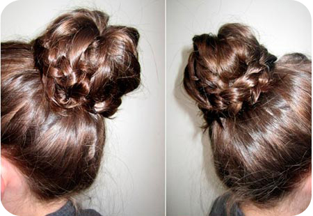 Hairstyles For Long Hair Gymnastics : ... and long haired gymnasts looking for a quick gymnastics hairstyle