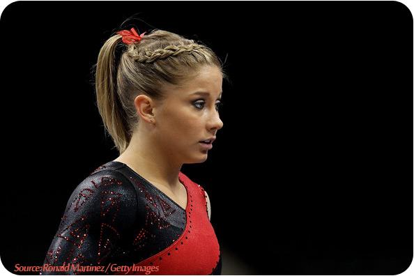 Astounding Spiderweb Hairstyle For Gymnastics 47805 Gymnastics Hairs Short Hairstyles For Black Women Fulllsitofus